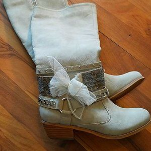 Not rated Women Boots Size 6 Chain 05hS15